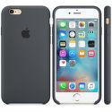 Apple silikónový kryt pre iPhone 6S, uhľovo šedý