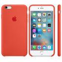 Apple silikónový kryt pre iPhone 6S Plus, oranžový