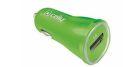Celly CL autonabíjačka s USB 1A (zelená)