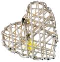 EMOS 16 LED XMAS HEART 3M IP20 WW