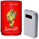 MyMax SET power bank 10.000 mAh (biely) + káva Lucaffe 250g Classic