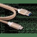 Innergie kábel USB-C a USB 3.0 (zlatá)