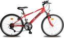 """OLPRAN Falcon Sus 24"""", Bicykel, červená"""
