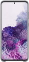 Samsung Silicone Cover pre Samsung Galaxy S20+, sivá