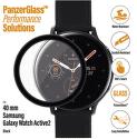 PanzerGlass ochranné sklo pre smart hodinky Samsung Galaxy Watch Active 2 40 mm čierna