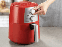 DELIMANO Air fryer PRO RED, Fritéza4