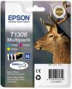 EPSON T1306 XL color (jeleň) - atrament