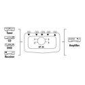 HAMA 42911 audio prepínač AP 04, 4 vstupy, 1 výstup