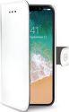 Celly Wally knižkové puzdro pre iPhone X, biela