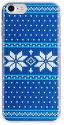 Flavr Ugly Xmas Sweater puzdro pre iPhone 8/7/6S/6/SE 2020, modrá