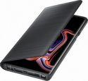 Samsung LED View knižkové puzdro pre Samsung Galaxy Note9, čierna