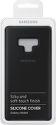 Samsung silikónové puzdro pre Samsung Galaxy Note9, čierna