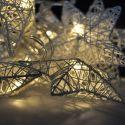 Solight 1V203 LED vianočné hviezdy prepletané