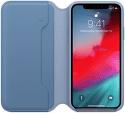 Apple kožené puzdro Folio pre iPhone Xs Max, modré