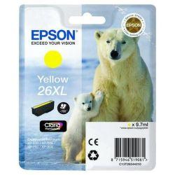 EPSON T2634 26XL yellow (ľadový medveď) - atrament