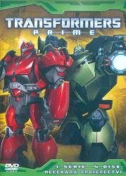 DVD F - Transformers Prime 1. série 4. disk