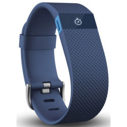 FITBIT Charge HR, Large - Blue
