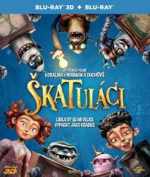 Škatuláci, The Boxtrolls (Anthony Stacchi, Graham Annable) - film na Blu-ray