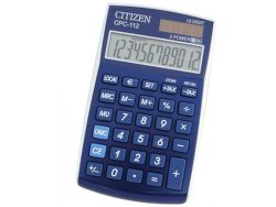 CITIZEN CPC-112, stolová kalkulačka