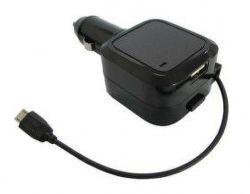 SOLIGHT DC35 - USB nabíjací autoadaptér