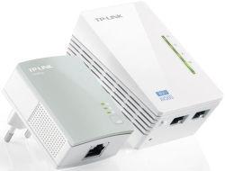 TP-LINK TL-WPA4220KIT powerline + WiFi extender, 500Mb/s