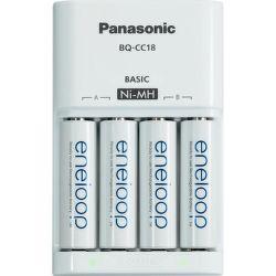 Panasonic MQN04-E-4-3UTGB - nabíjačka s batériami 4x AA 1900