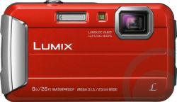 Panasonic Lumix DMC-FT30EP-R červený