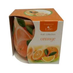 Sviečka aromaticka 100g pomaranc