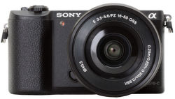 Sony Alpha 5100 čierny + E PZ 16–50 mm F3,5–5,6 OSS