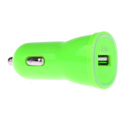 Winner micro-USB autonabíjačka + dátový micro-USB kábel (zelená)