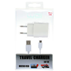 Winner nabíjačka + dátový kábel micro-USB (biela)