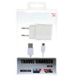 Winner 15W nabíjačka USB + dátový kábel micro-USB, biela