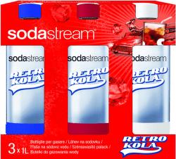 Sodastream Retro Kola Tripack náhradné fľaše (1l/3ks)