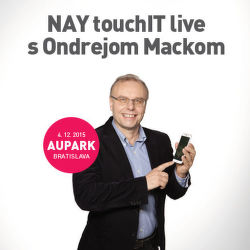 NAY Touch IT live s Ondrejom Mackom v Auparku BA