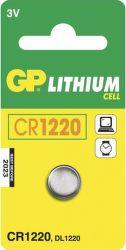 GP Lithium CR1220 (B1520), 1ks