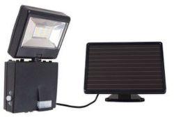 Somogyi 6923H - LED reflektor so solárnym panelom a senzorom pohybu