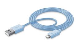 CellularLine Style&Color dátový kábel Lightning, modrá