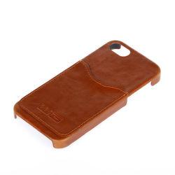Winner PU Leather puzdro pre Apple iPhone 5 / 5S / 5C / SE (hnedé)