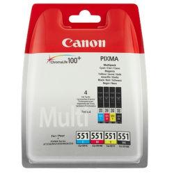 CANON Sada atramentov CLI-551 C/M/Y/BK Multi Pack SEC