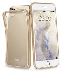 SBS puzdro pre iPhone 7/8/SE 2020 transparent zlatý