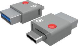 Emtec DUO USB-C T400 16GB USB kľúč