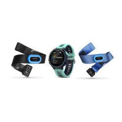 Garmin Forerunner 735XT (tmavo-ľadovo modrá) Tri Bundle