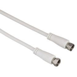 Hama 122435 SAT prepojovací kábel, F-vidlica - F-vidlica, 90 dB, 3 m