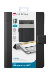 "CellularLine CLICK CASE 10,5"" (čierne)"