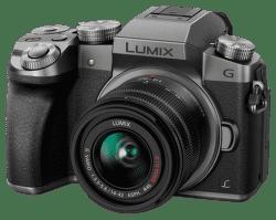 Panasonic Lumix DMC-G7 + G Vario 14-42mm (strieborný)