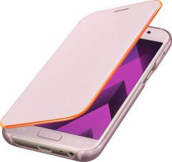 SAMSUNG Flipové puzdro pre Galaxy A3 Neon (ružová)