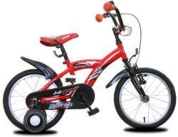 "OLPRAN Bary 14"", Bicykel, červená"