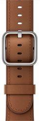 Apple Watch 38mm sedlovo hnedý klasický remienok