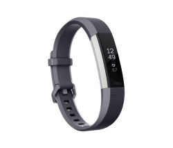 Fitbit Alta HR L šedý