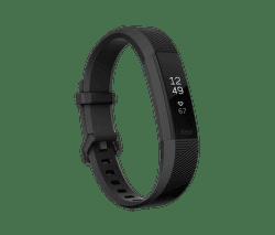 Fitbit Alta HR Gunmetal L čierny